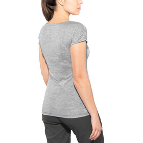 SALEWA Puez Melange Dry T-shirt Dames, quiet shade melange